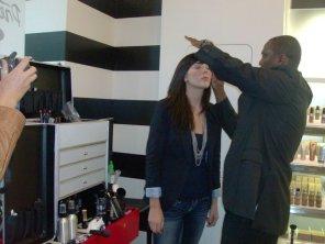 Celebrity Make Up Artist ANDRÉ MAURICE @ Sophoria - 3rd Street Promonade