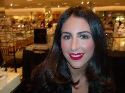Celebrity Make Up Artist ANDRÉ MAURICE @ The Bobbi Brown Counter